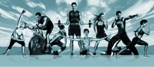 All These people look happy to exercise..Is it contagious?